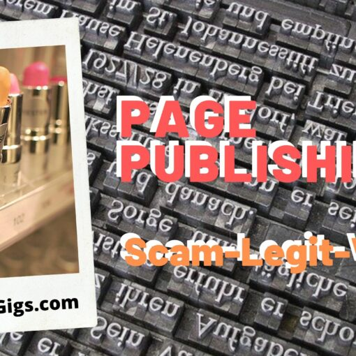 page publishing reviews