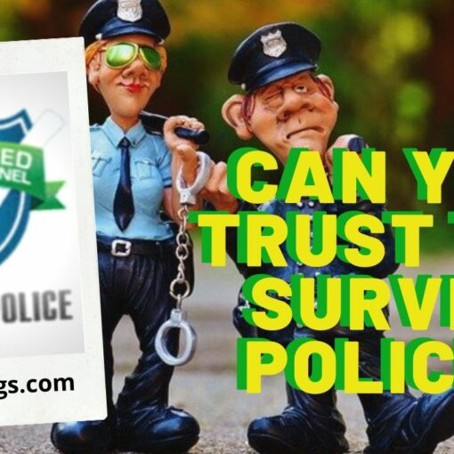 one opinion survey police