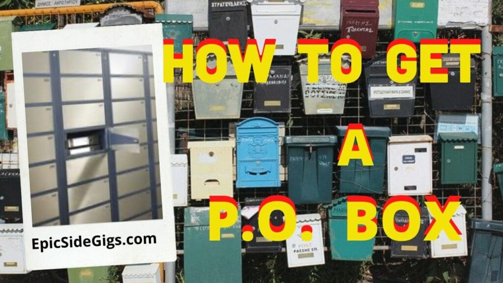 how to get a PO box