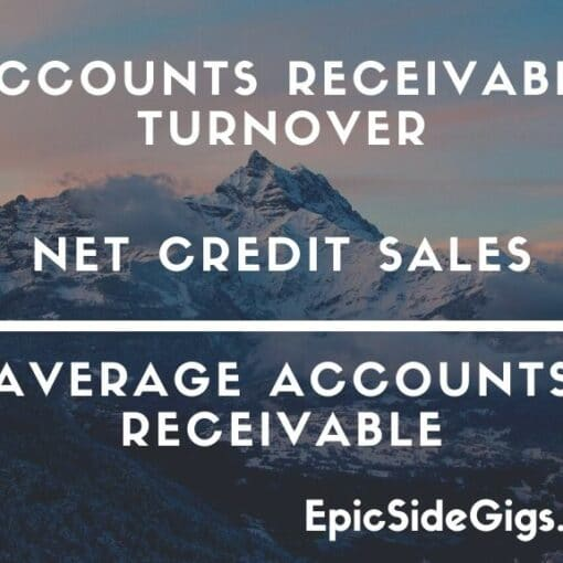 accounts receivable turnover