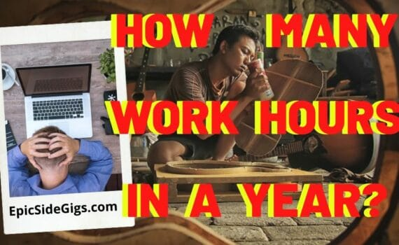 how many work hours in a year
